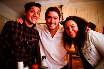 Fillipo, Pedro e Marina