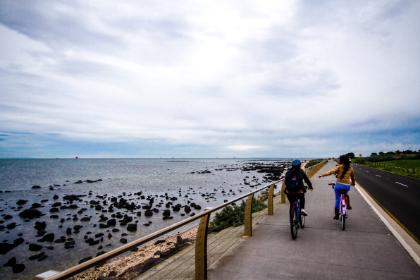 Passear de bicicleta