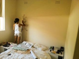 Arte no nosso quarto em andamento 1