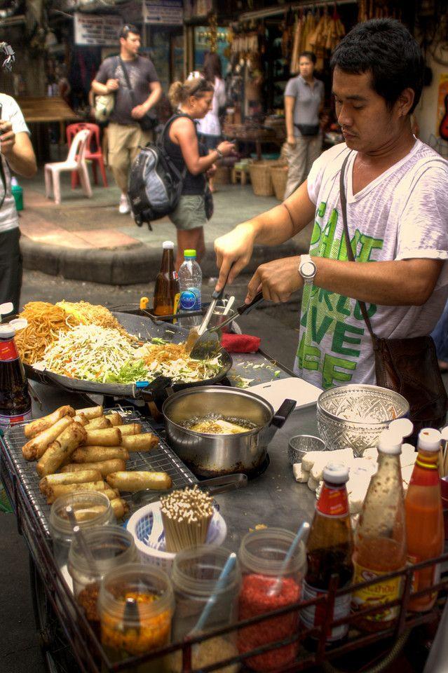 Típica comida tailandesa